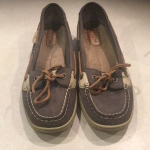 Great used condition sperrys women's worn 1 size6